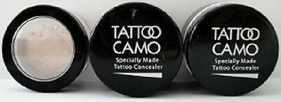 New Tattoo Camo Complete Coverage Tattoo Concealer Paste Double Kit