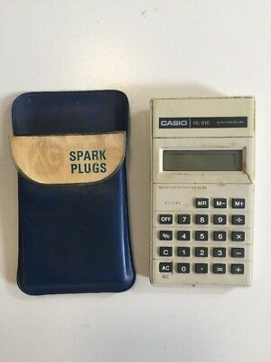 Casio HL-810 Electronic Calculator Vintage Working in Case