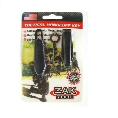 Zak Tool ZT-99 Tactical Handcuff Covert Concealment Cuff Key Set
