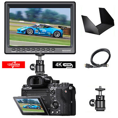 Neewer F100 7-inch 1280x800 IPS Camera Field Monitor with 1 Mini HDMI Cable