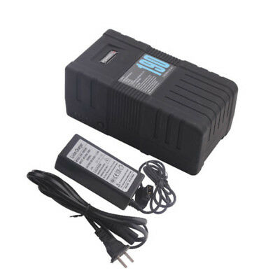190Wh 14.4V V-Mount POWER-U Li-ion Battery With Charger For SONY RED ONE ALEXA