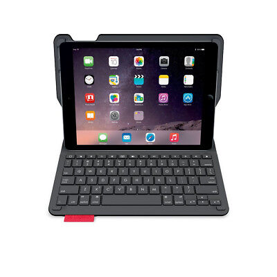 Logitech Type+ Tastatur Case Apple iPad Air 2 iOS QWERTZ kabellos Bluetooth