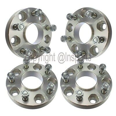 "(4) 1"" 5x5 to 5x4.5 Hubcentric Wheel Adapter For Jeep JK to Old Wheels Off TJ YJ"