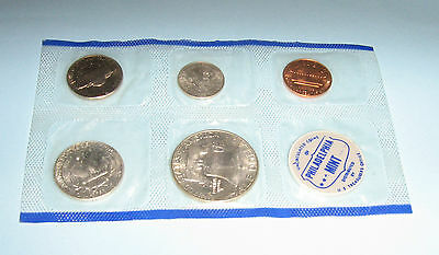 Usa 1961 Mint Set Philadelphia In Sealed Plastic Set
