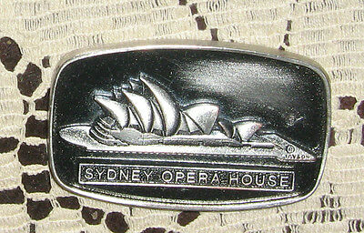 Sydney Opera House Medal 1973 Nice 2 1/8 Inches Across