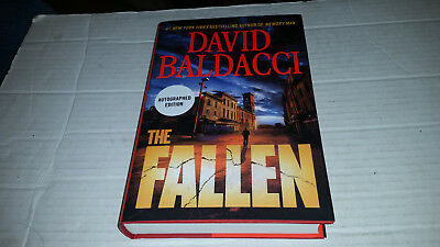 The Fallen by David Baldacci (2018, Hardcover) SIGNED 1st/1st