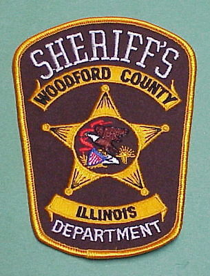 WOODFORD COUNTY ILLINOIS IL SHERIFF POLICE PATCH