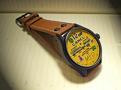 Ayrton Senna Souvenir/Tribute Wrist Watch, 1st Win @ Monaco Grand Prix 1987