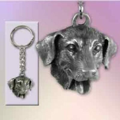 Pewter Dog Breed LAB RETRIEVER Keychain Retired CLEARANCE PRICED