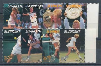 236824) St. Vincent Nr.1020-1027** Tennis