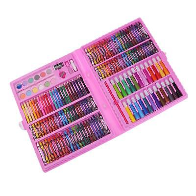 168Pcs Art Set Childrens/Kids Colouring Drawing Painting Arts & Crafts Gifts