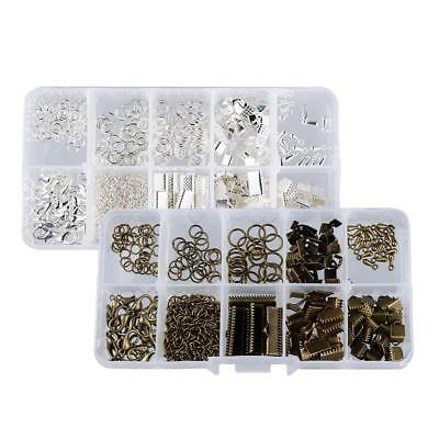 2 Set Jewellry Starter Kits Jewelry Making Set DIY Bracelet Necklace Crafts