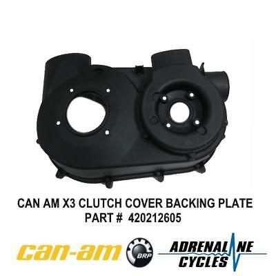 Can Am Maverick X3 XDS XRS CVT Clutch Back Plate Cover OEM NEW #420212605
