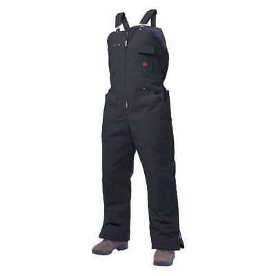 TOUGH DUCK 753716-XL-BLK Insulated Bib Overalls,40 to 42 in. G1873061