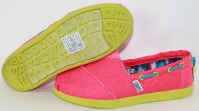 NEW Girls Kids Youth SKECHERS Bobs World Toggle Up 85048L NPMT Sneakers Shoes