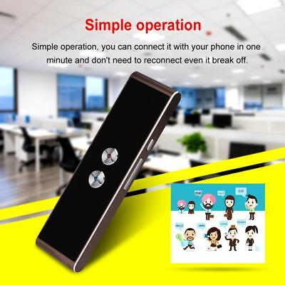 Mini Smart Real Time Multi-Language Voice Translator for Learning Travel Meeting