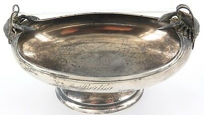 """.very Unusual / Superb / Antique English Sterling Silver """"Lobster"""" Bowl."""