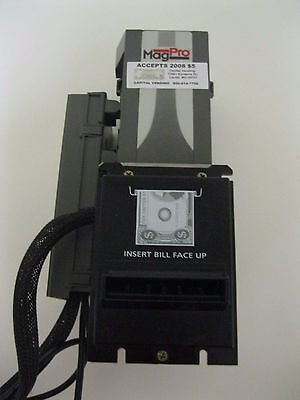 Coinco Mag 32SA Dollar Bill Acceptor Validator takes $1-20 Remote box