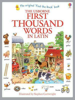 First Thousand Words in Latin by Amery, Heather | Paperback Book | 9781409566151