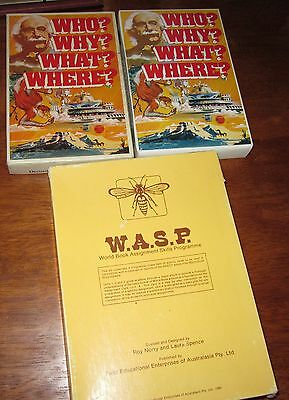 W.A.S.P Roy Norry World Books Study Books  Field Educational Australasia