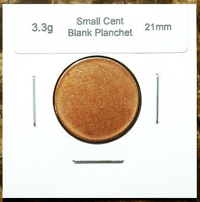 Canada Small Cent Blank Planchet (3.3g & 21.0mm) Choice Uncirculated!!