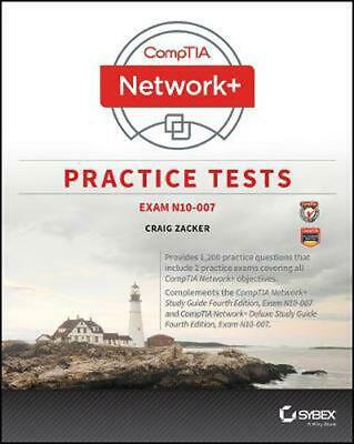 Comptia Network+ Practice Tests: Exam N10-007 by Craig Zacker (English) Paperbac