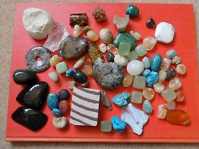Large Collection of Minerals Gems Crystals Fossils Rocks Stones