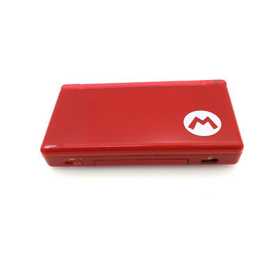 Red Mario Refurbished Nintendo DS Lite Console NDSL Video Game System