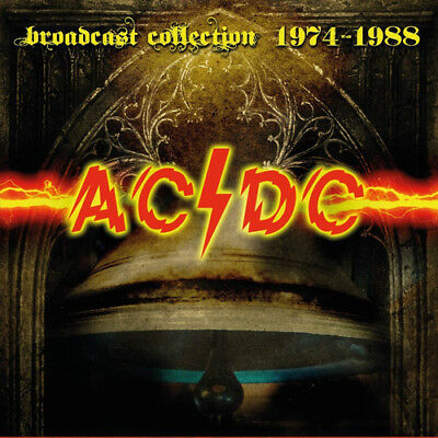AC/DC : Broadcast Collection 1974-1988 CD (2018) ***NEW***