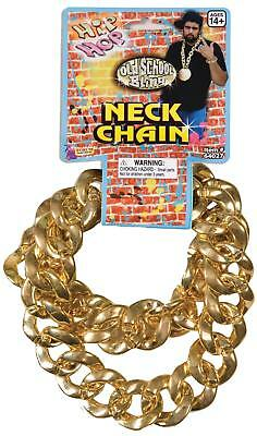 Jumbo gangster Chunky gold big chain link bling hip hop necklace costume Novelty