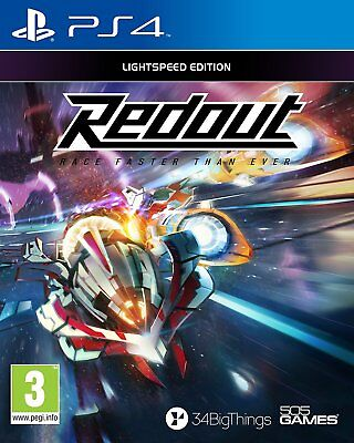 Redout Lightspeed Edition (PS4) BRAND NEW SEALED RED OUT