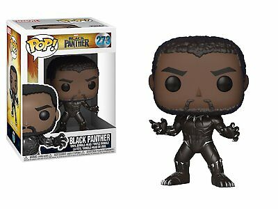 Funko POP! Marvel Black Panther Vinyl Bobble-head #273 [Toys Collectible Heroes]