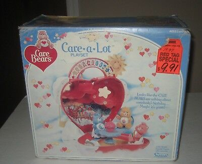 Kenner 1984 Care Bears Care A Lot Playset Brand New