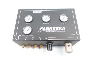 Fabreeka Vibration & Shock Filter Control Regulator 0-160psi