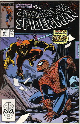 The Spectacular Spider-Man Comic Book #154 Marvel 1989 NEAR MINT NEW UNREAD