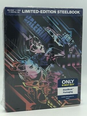 Valerian and the City of Thousand Planets (Blu-ray+DVD+Digital, 2017; Steelbook)