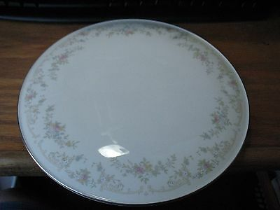 "Royal Doulton DIANA China 11"" Round Serving Footed Cake Pie Serving Platter MINT"