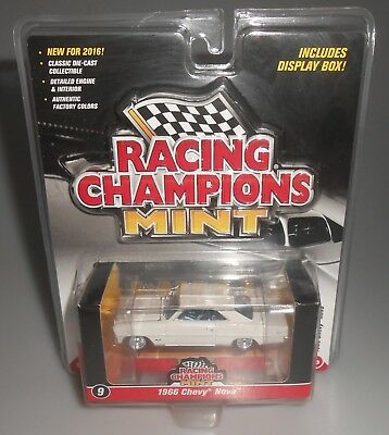Racing Champions Mint 1966 Chevy Nove White 2016 NEW SEALED