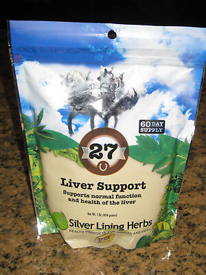 SILVER LINING HERBS #27 Liver Support Horse Eye Health Detoxify Equine 1 Pound