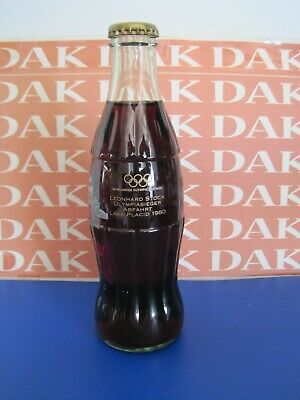 Coca-Cola bottle 0,25 cl from Austria Olympia Edition of 2002 Leonhard Stock