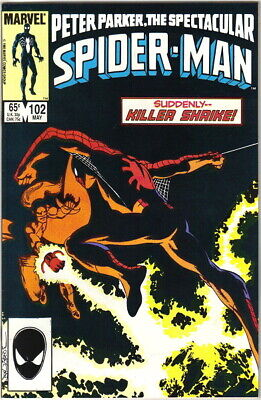 The Spectacular Spider-Man Comic Book #102 Marvel 1985 VERY FN/NEAR MINT UNREAD