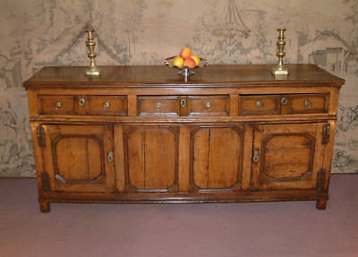 Very rare 17th Century Charles II period Cherry wood Dresser c 1670.