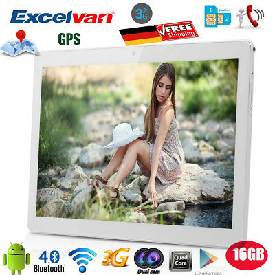 Excelvan 10.1ZOLL IPS TABLET PC ANDROID 6.0 16GB Dual SIM/Cam 3G WIFI GPS OTG