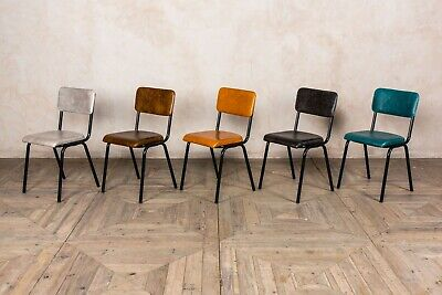 Groovy Leather Dining Chairs Colourful Leather Cafe Restaurant Gmtry Best Dining Table And Chair Ideas Images Gmtryco