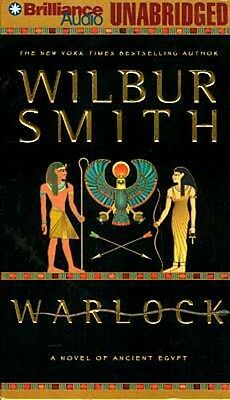 Amazing Account Life Ancient Egypt Warlock by Wilbur Smith 22 Hour Book on Tape