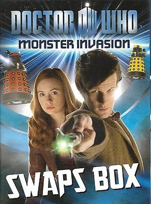 Doctor Who<>Monster Invasion<>Swaps Box  ~~~