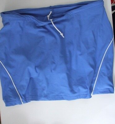 Netball skort XXL size18 skirt with knickers, games skirt,sports clothing Blue