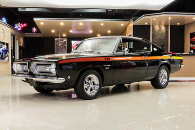 Plymouth Barracuda  Rotisserie Restored, Barracuda! 340ci V8 (420hp) A727 Automatic, PB, Sure-Grip!