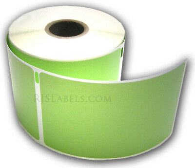 7200 (24 roll) Green Shipping Labels Comp w/DYMO 30256