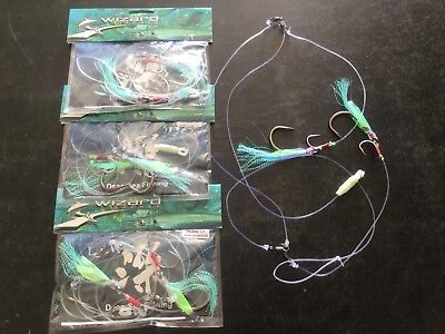 miya epoch  Deep Drop Rigs Qty 3   14/0  2 Hook Set Promo